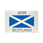Ayr Scotland Rectangle Magnet (10 pack)