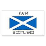 Ayr Scotland Sticker (Rectangle)