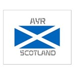 Ayr Scotland Small Poster