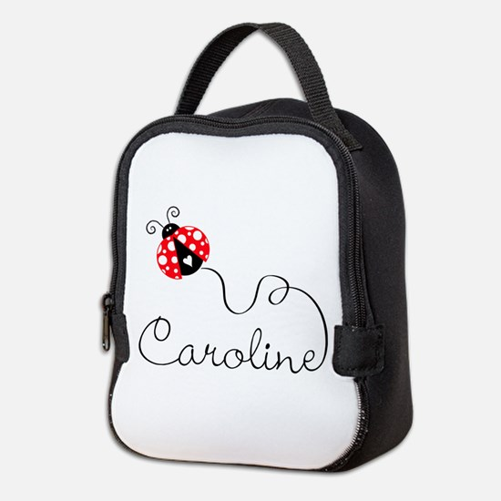 Ladybug Caroline Neoprene Lunch Bag