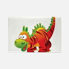 Red Striped Dinosuar Magnets