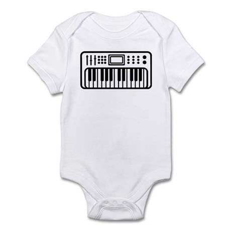 Keyboard piano Instrument Infant Bodysuit