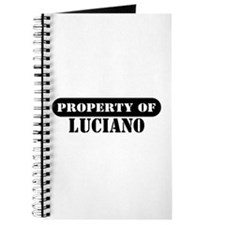 Property of Luciano Journal
