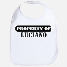 Property of Luciano Bib