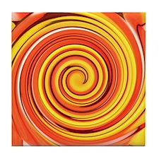 A Splash of Fall Tile Coaster