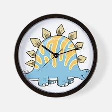 Cartoon Dino Wall Clock