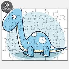 Blue Baby Dinosaur Puzzle