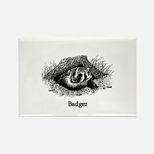 Badger (line art) Magnets