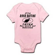 River Rafting Thing Designs Infant Bodysuit