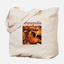 Annapolis Maryland (Steamed Crabs) Tote Bag