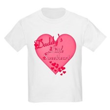 Daddy's Little Sweetheart Kids T-Shirt