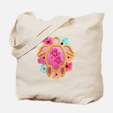 Hawaiian Pink Honu Tote Bag