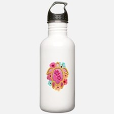 Hawaiian Pink Honu Water Bottle