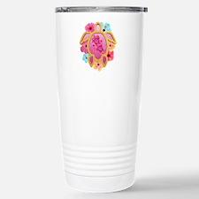Hawaiian Pink Honu Travel Mug