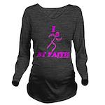 I Run By Faith (Womens 3rd Edition) Long Sleeve Ma