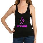 I Run By Faith (Womens 3rd Edition) Racerback Tank