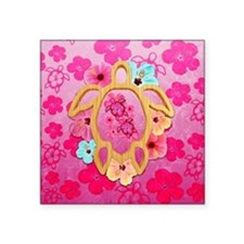 Hawaiian Pink Honu Sticker