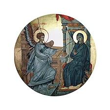 "Annunciation 3.5"" Button (100 pack)"