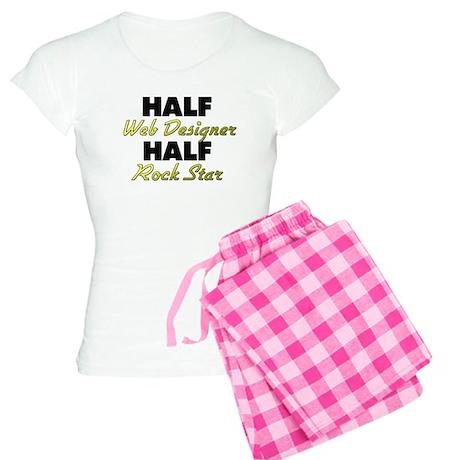 Half Web Designer Half Rock Star Pajamas