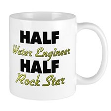 Half Water Engineer Half Rock Star Mugs