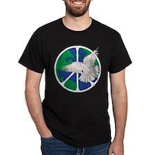 Peace Sign & Dove T-Shirt