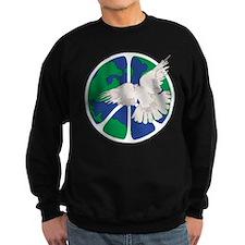 Peace Sign & Dove Sweatshirt