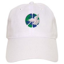 Peace Sign & Dove Baseball Cap