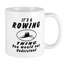 Rowing Thing Designs Small Mug