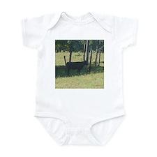 angus cow & calf Infant Bodysuit