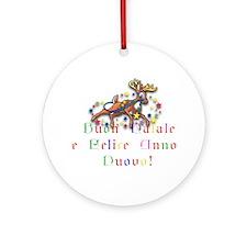 "Holiday International ""Italian"" Ornament (Round)"