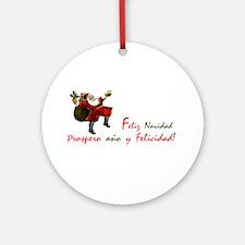 "Holiday International ""Spanish"" Ornament (Round)"
