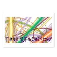 That was NOT my camera strap Postcards (Package of