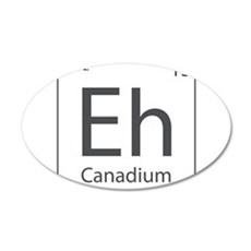 Canadium Eh? Wall Decal