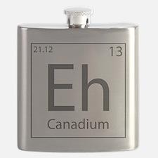 Canadium Eh? Flask