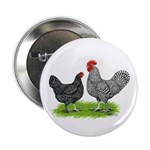 Marans Rooster and Hen Button