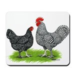 Marans Rooster and Hen Mousepad