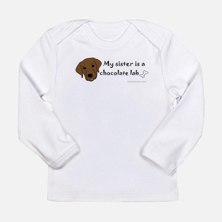chocolate lab Long Sleeve T-Shirt