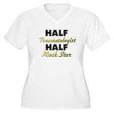 Half Traumatologist Half Rock Star Plus Size T-Shi
