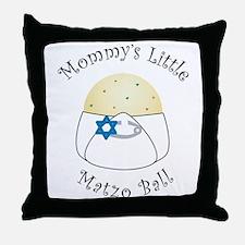 Mommy's Little Matzo Ball Throw Pillow