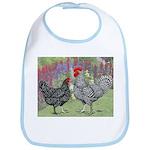 Marans Chickens Bib