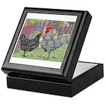 Marans Chickens Keepsake Box