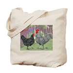 Marans Chickens Tote Bag