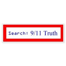 Search: 9/11 Truth (Bumper Sticker)