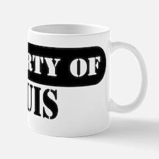 Property of Louis Small Small Mug