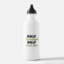 Half Toxicologist Half Rock Star Water Bottle