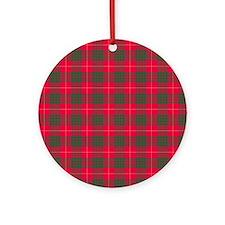 Tartan - Cameron Ornament (Round)