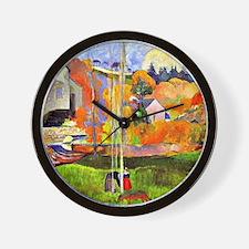 A Breton Landscape, Paul Gauguin painti Wall Clock