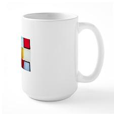 Checked Mug