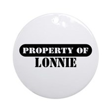 Property of Lonnie Ornament (Round)