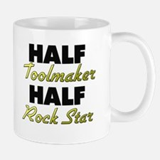 Half Toolmaker Half Rock Star Mugs